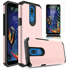 For LG K40 Solo 4G LTE K12 Plus Shockproof TPU Phone Case Cover+Screen Protector