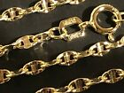 "Kyпить 14 k Solid Yellow Gold 2.05mm Stamped Mariner Chain Necklace 16"",18"",20"",22"",24"" на еВаy.соm"