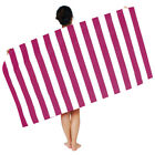 US Microfibre Striped Beach Towels Quick Dry Travel Towel 170x90cm/66.9x35.4inch