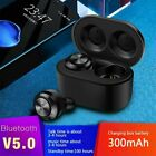 Touch Control Bluetooth 5.0 Headphones Earbuds Wireless Headset Super Bass Sound