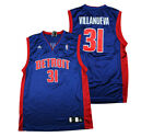 Adidas NBA Men's Detroit Pistons Villanueva #31 Replica Jersey, Blue on eBay