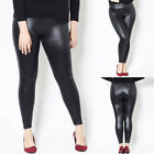 Women's Casual Slim Fit Solid Color Full Length Leggings Chaparejos Pants GIFT