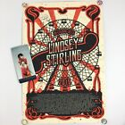 An Evening with Lindsey Stirling Autographed Concert Tour Poster VIP Gift Signed
