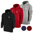 Nike Mens Sportswear Long Sleeve Fleece Pullover Hoodie