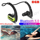 Kyпить IPX8 Waterproof Bluetooth 5.0 Headsets for Swimming Wireless Headphone Earpiece на еВаy.соm