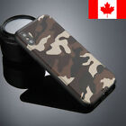 Camo Camoflage Ultra Slim TPU Gel Soft Case Shockproof Cover For iPhone
