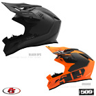 New 2020 509 Altitude Carbon Fiber Snowmobile Helmet Black Ops Orange MD LG XL 2