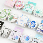 46PCS/Box Cute Stickers Kawaii DIY Scrapbooking Diary Label Stickers Stationery