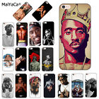 Tupac Silicone Soft Phone Case for iPhone 8 7 6 6S Plus X XS Max XR 5 5S SE
