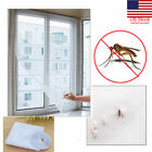 US Window Insect Screen LARGE Mosquito/Wasp/Fly/Bug Door Mesh Net Self Grip hot image