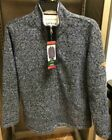 NEW!! Orvis Men's Brighton Quarter Zip Sherpa Lined Pullover Variety