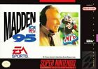 Madden 95 - Nintendo SNES Game Authentic