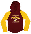 OuterStuff NFL Youth Girls Long Sleeve Hooded Shirt, Washington Redskins $17.5 USD on eBay