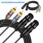 PYLE PPRCX05 Dual 5ft. Professional Audio Link Cable XLR Female/Male to RCA Male