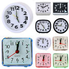 Small Portable Silent Night Analogue Alarm Clock Quartz Snooze Dorm Alarm Clock