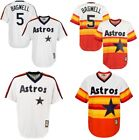 Men's Houston Astros #5 Jeff Bagwell Throwback Cool Base Player Pullover Jersey on Ebay