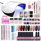 100% Gel Nail Polish Art Starter Set Kit UV LED Lamp Light Tool - Best Reviews Guide