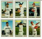 2019 Topps Heritage High Number Base & Short Prints 501-725 Pick Alonso Tatis ++ on eBay