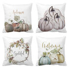 Fall Halloween Pumpkin Pillow Case Waist Throw Cushion Cover Sofa Home Decor USA image