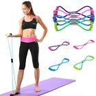 Elastic Resistance Band Workout Exercise Band For Yoga Pilates Fitness Equipment image