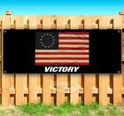 BETSY ROSS VICTORY FLAG Advertising Vinyl Banner Flag Sign Many Sizes Available $45.99 USD on eBay