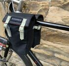 Carradice Originals Top Tube Bicycle Panniers Cotton Duck & Leather - 2 colours!