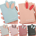 Women Bunny Cute Short Small Mini Wallet Bifold Money Purse Coin Card Holder Bag image