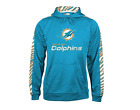 Zubaz Men's NFL Miami Dolphins Pullover Hoodie With Zebra Accents $39.99 USD on eBay