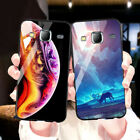 Stars Space Tempered Glass Case For Samsung Galaxy J7 2017 2015 J2 Prime Covers $3.18 USD on eBay