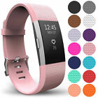For Fitbit Charge 2 Strap Band Wristband Watch Replacement Silicone Watch Band