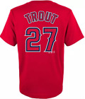 Men's Majestic Mike Trout Los Angeles Angels T-shirt Tee Jersey Authentic NWT on Ebay
