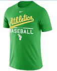 Nike Men's Oakland Athletics's A's Authentic Collection Dri-Fit  T-Shirt New NWT on Ebay