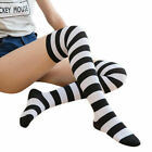 ladies womens girls over knee thigh high stretchy cotton socks size 4 7