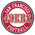 "San Francisco 49ers Logo NFL Sport Car Bumper Sticker Decal ""SIZES"" $3.75 USD on eBay"
