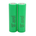 2 Samsung 18650 25R 2500mAh 35A High Drain Rechargeable Battery Free Case Lot