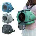 Portable Pet Carrying Backpack Breathable Foldable Carrier Small Pet Travel Bag