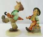 "2 Hummel Goebel Figures #109 ""HAPPY TRAVELER"" & #111 ""Merry Wanderer"" TMK 5 & 6"