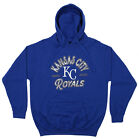 Zubaz MLB Men's Kansas City Royals Arched Logo Fleece Pullover Hoodie on Ebay