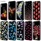 Aquarella Butterfly Case for iPhone 11 Pro XS Max XR X 8 7 6 6S Plus 5 5S se