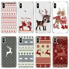 Merry Christmas Cover Case for iPhone 11 Pro XS Max XR X 8 7 6 6S Plus 5 5S se