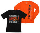 NFL Youth Cincinnati Bengals Fan Two Piece Performance T-Shirt Combo Set $29.99 USD on eBay