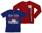 NFL Youth New York Giants Fan Two Piece Performance T-Shirt Combo Set $29.99 USD on eBay