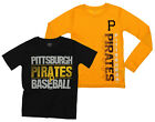 MLB Youth Pittsburgh Pirates Fan Two Piece Performance T-Shirt Combo Set on Ebay