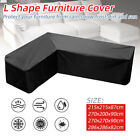 Waterproof Polyester L Shape Outdoor Garden Furniture Sofa Patio Furniture Cover