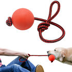 PET LARGE DOG TOYS STRONG LARGE TUGGER BALL ROPE THROWING HEAVY DUTY FETCH ROPE
