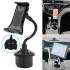 360° Universal Car Mount Adjustable Gooseneck Cup Holder Cradle Cell Phone GPS