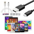 Micro USB Cable Fast Data Charger Cable Android Phones 3' & 10' USA  Not C Type