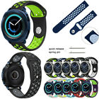 Sport Silicone Band Watch Bracelets For Samsung Gear S3 Frontier Classic 22mm image