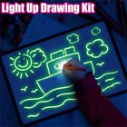 Fluorescent Light Writing Pad Child Drawing Painting Board Educational Kids Toy
