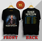 Blake Shelton Friends Heroes Tour date 2019 Black T-Shirt country Kiss concert image